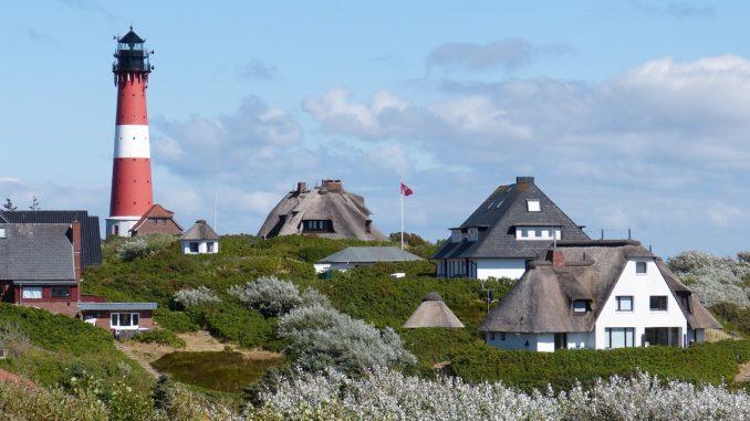 Hörnum Leuchtturm Sylt Nordsee